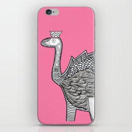 Dino Ostrich iPhone Skin