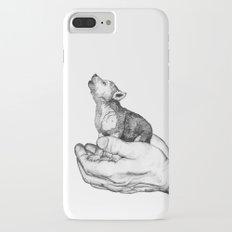 Wolf Cub // Graphite Slim Case iPhone 7 Plus