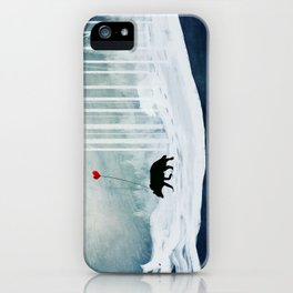 WOLF - A Love Always Carried  iPhone Case