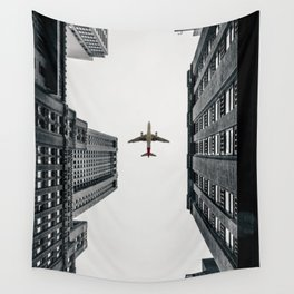 City Calm Down Wall Tapestry