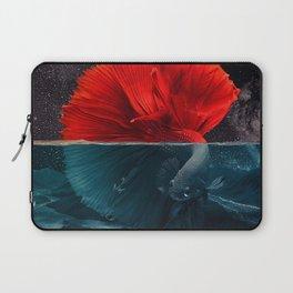 Red Siamese Fighting by GEN Z Laptop Sleeve