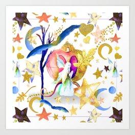 Starry Nights Art Print