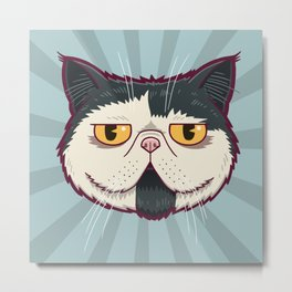 Soulpatch Metal Print