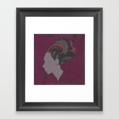 Busy Being Free (Pink) Framed Art Print