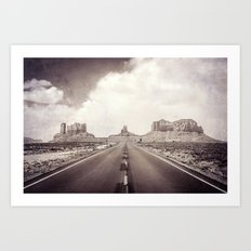 Road to the Giants Art Print