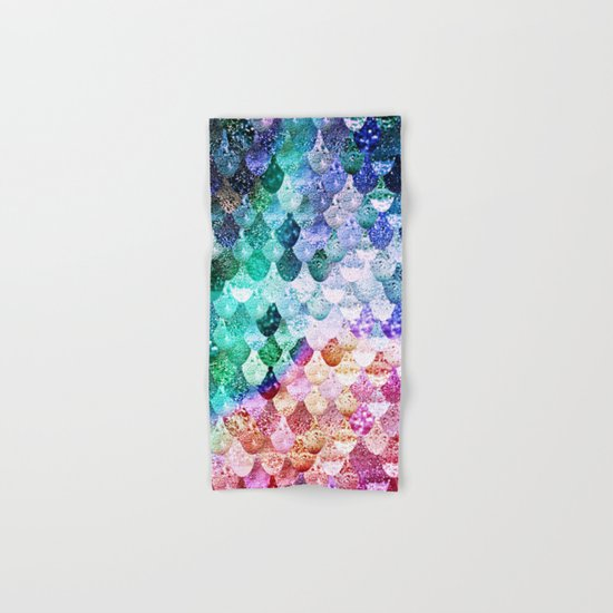 REALLY MERMAID FUNKY Hand & Bath Towel