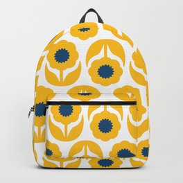 Joy collection- Yellow flowers Backpack