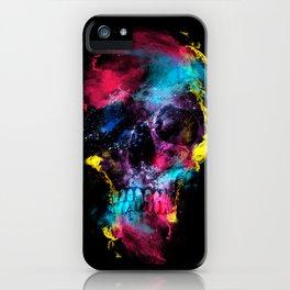Skull - Space iPhone Case