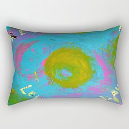 Rainbow Universe Rectangular Pillow