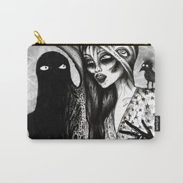 Dialogue With A Demon Carry-All Pouch
