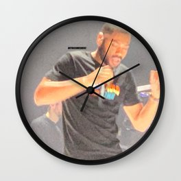 Kano - Live - Hoodies All Summer - LDN Wall Clock