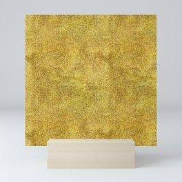 Antique Gold Glitter Mini Art Print