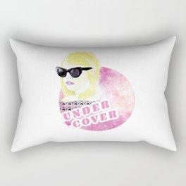 Under cover (detective) Rectangular Pillow