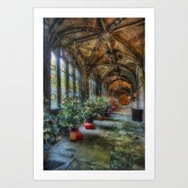 Deck the Halls Art Print