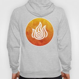 Avatar Fire Bending Element Symbol Hoody