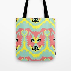 The Pack of Modular Wolves Tote Bag