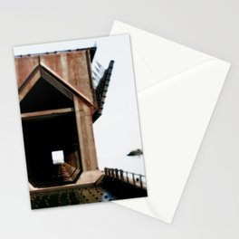 Surreal ore dock Stationery Cards