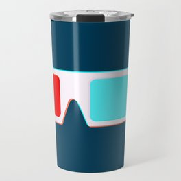 3-D Glasses Travel Mug