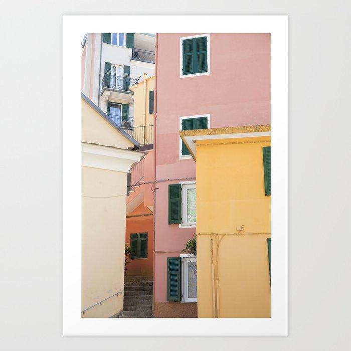 Colours of Cinque Terre, Italy Kunstdrucke