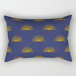 Sol in Indigo Rectangular Pillow