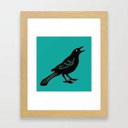 Grackle #2 Framed Art Print
