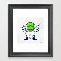 untitled dude Framed Art Print