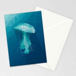 Medusozoa - jellyfish Stationery Cards
