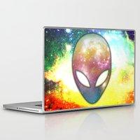 alien Laptop & iPad Skins featuring Alien by Spooky Dooky