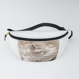 Yin Yang softness and sepia Fanny Pack