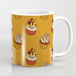Pattern cupcakes, sweets, food, dessert, dragee Coffee Mug