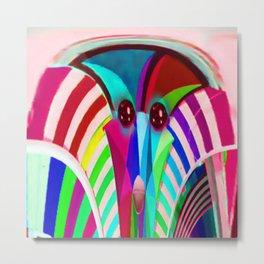 Colorful Apparition Metal Print