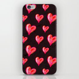 Hearts All Aglow iPhone Skin