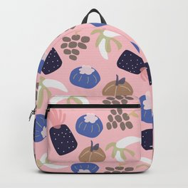 Cute pattern of fruits and vegetables Backpack