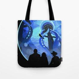 Europa Space Travel Retro Art Tote Bag