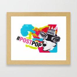 #PostPop #TheFactoryIsBack Framed Art Print