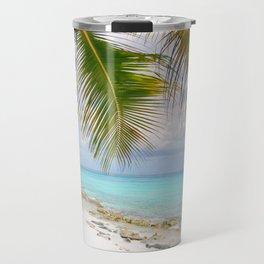 Domenicana beach Travel Mug