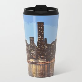 skyline newyork Travel Mug