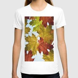 Autumn Leaf Brite T-shirt