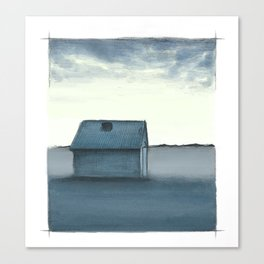Small house Canvas Print