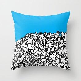 Ideograph I Throw Pillow