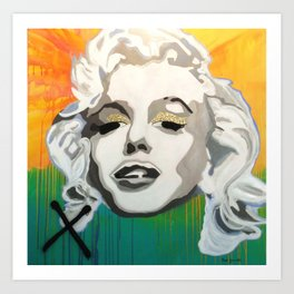 Marilyn Blonde Bombshell Art Print