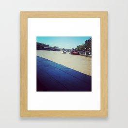 On the Yarra Framed Art Print