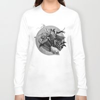 hocus pocus Long Sleeve T-shirts featuring Hocus Pocus Halloween Fun by Stung Designs