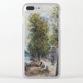 Alfred Sisley 1839 - 1899 SAINT-MAMMÈS Clear iPhone Case