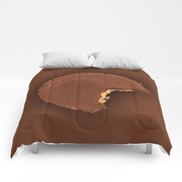 Chocolate Peanut Butter Cup Candy Comforters