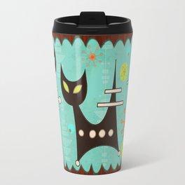 Atomic Cats Travel Mug