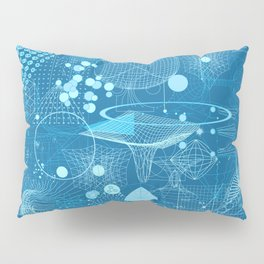 Science Schemes Pattern Pillow Sham
