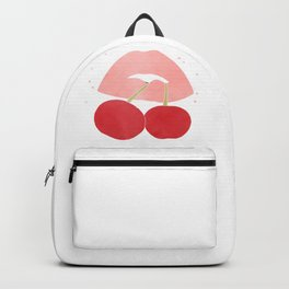 cherry lips Backpack