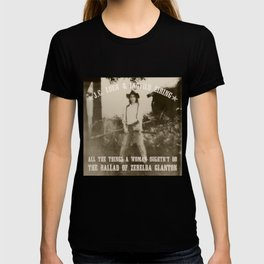 All the Things a Woman Oughtn't Do T-shirt