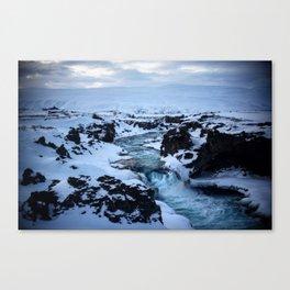 Iceland_Blue Canvas Print